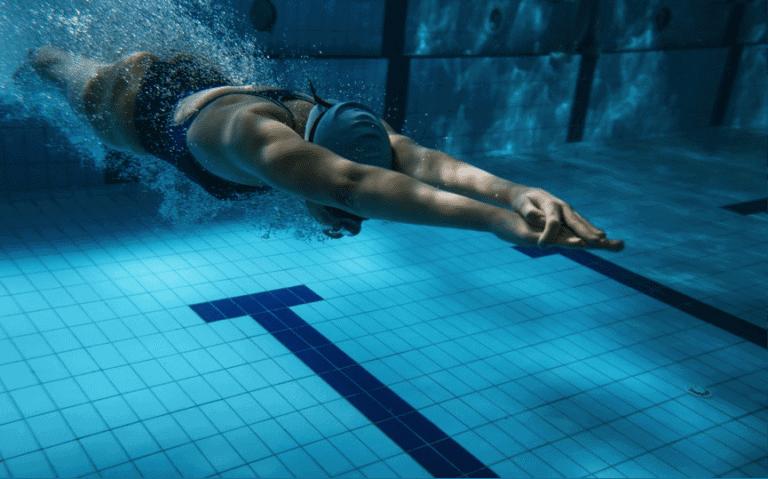 Diving Swimmer