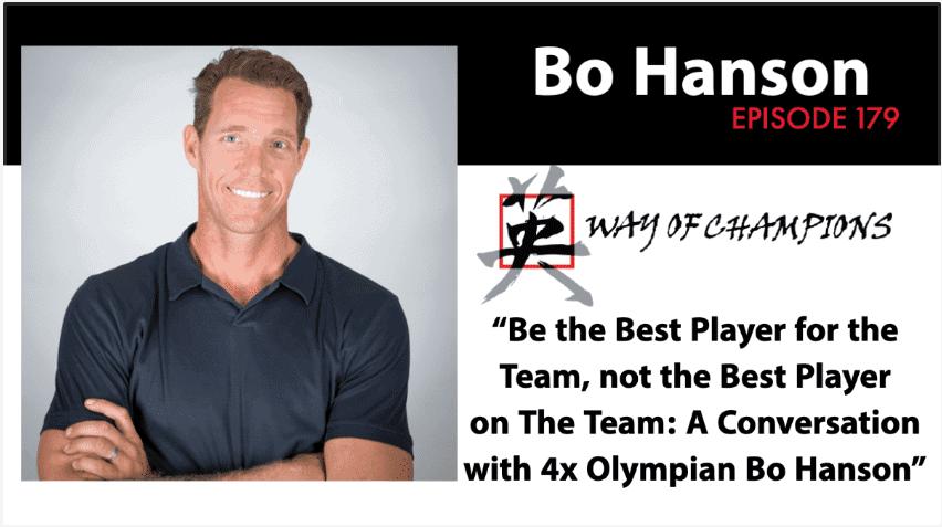 Bo Way of Champions Podcast