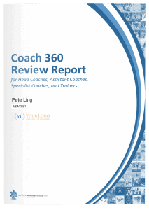 Coach360 Review Report Cover
