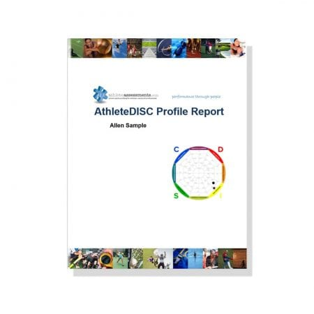 AthleteDISC Profile Report