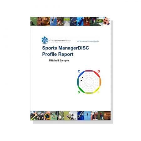 Sports ManagerDISC Profile Report